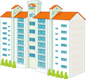 apartment_clipart